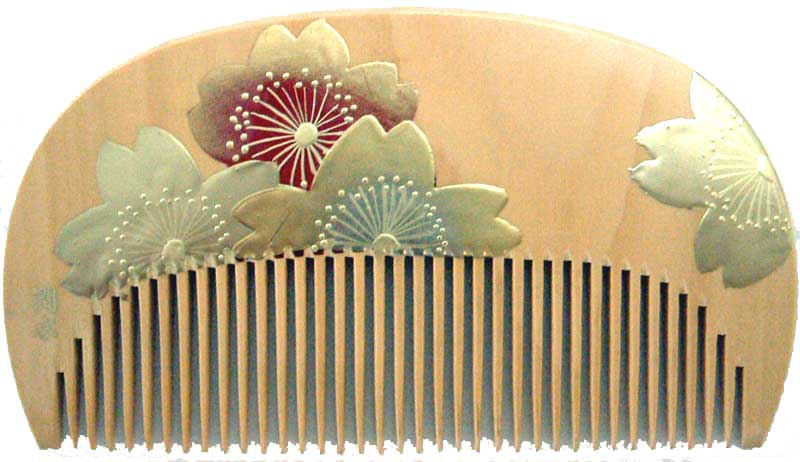Painted boxwood comb-Cherry blossom-